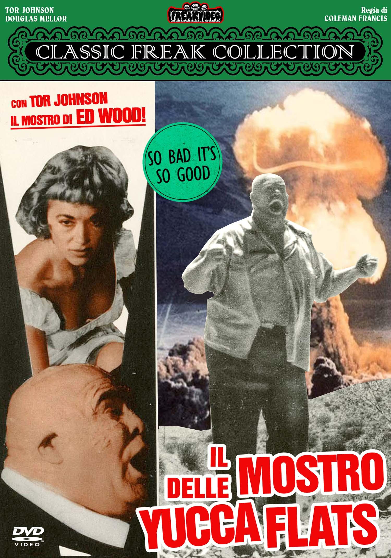 IL MOSTRO DELLE YUCCA FLATS - AUDIO INGLESE (DVD)
