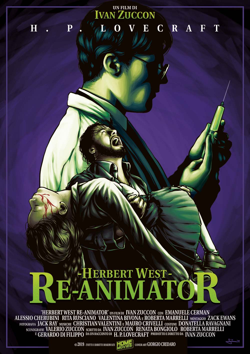 HERBERT WEST REANIMATOR (DVD)