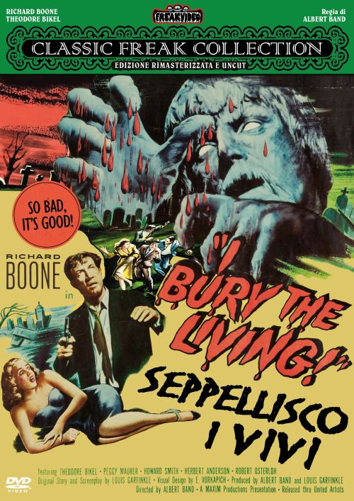 I BURY THE LIVING! SEPPELLISCO I VIVI (DVD)
