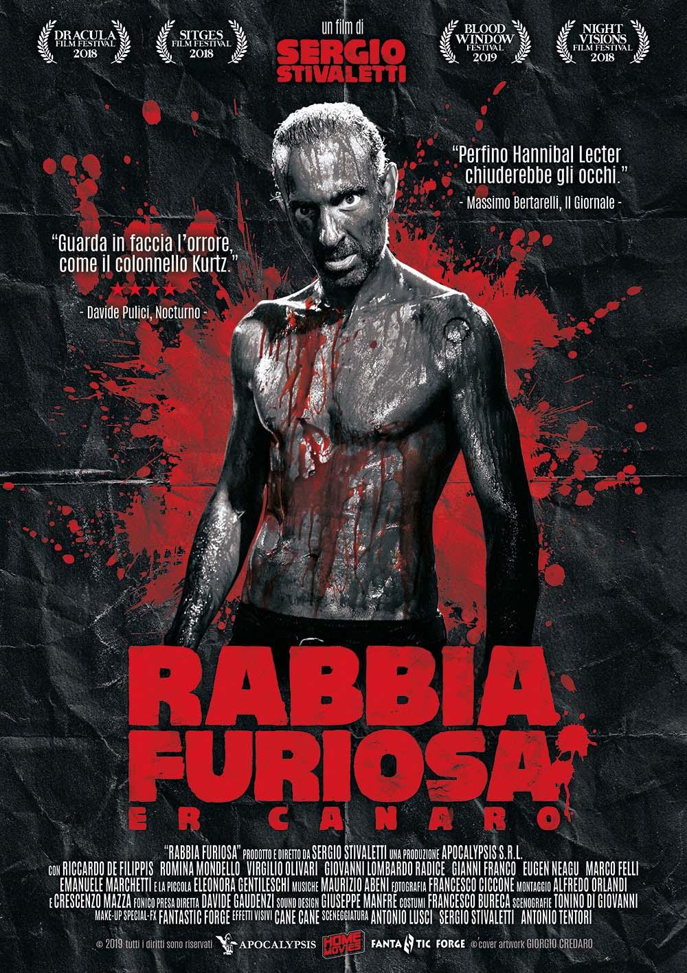 RABBIA FURIOSA (DVD)
