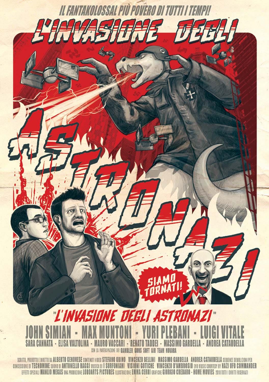 L'INVASIONE DEGLI ASTRONAZI (EDIZIONE LIMITATA 500 COPIE) (DVD)