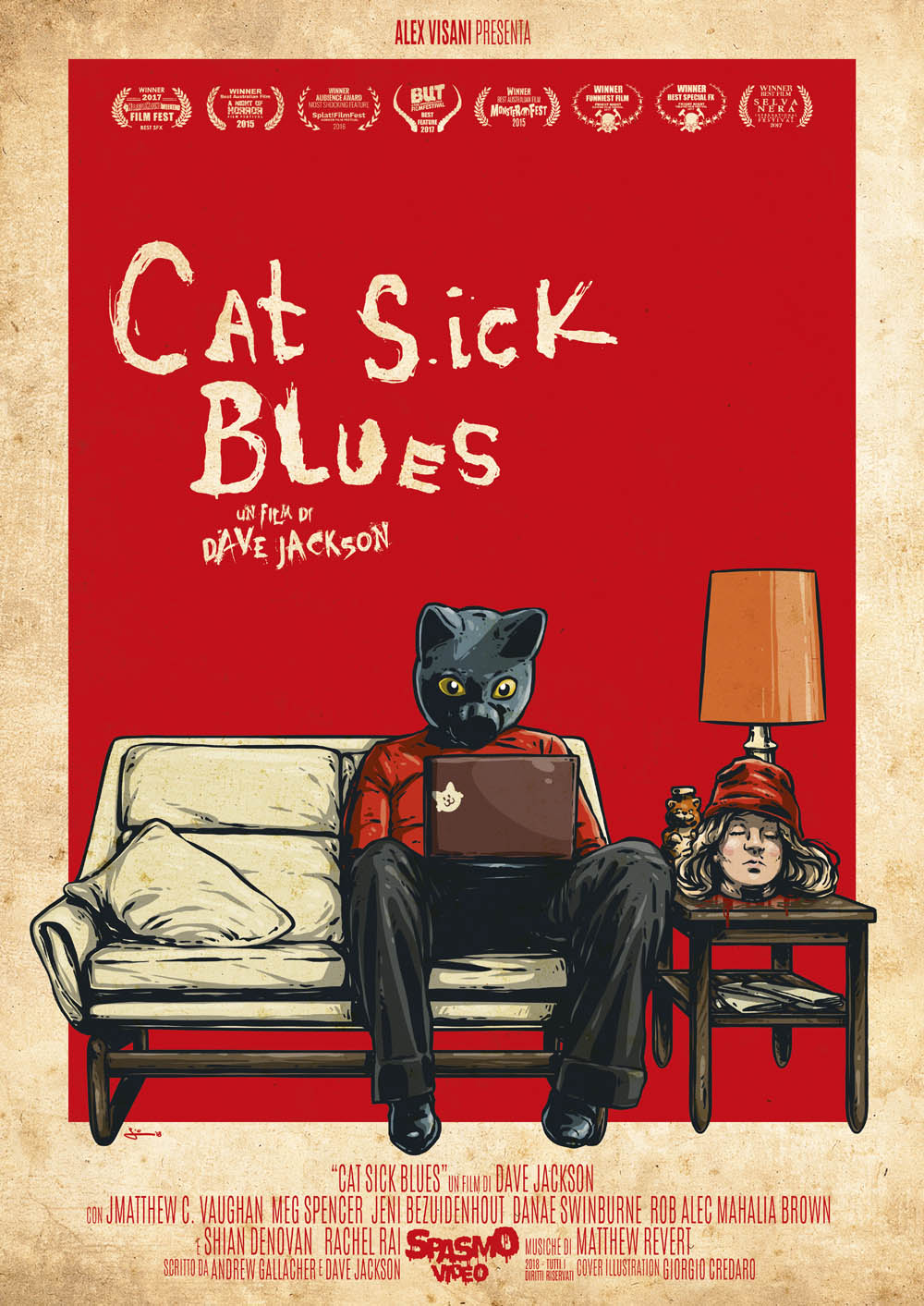 CAT SICK BLUES (DVD)