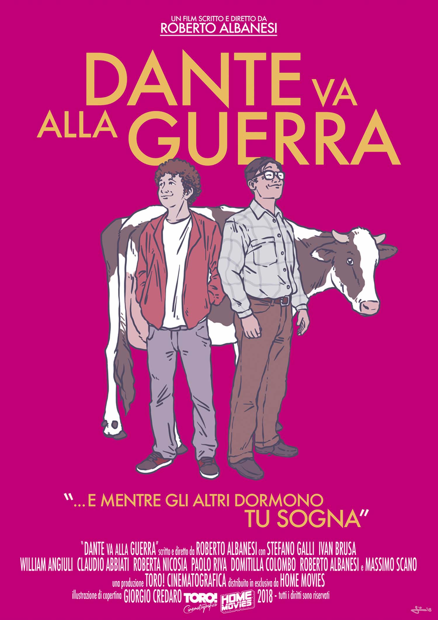 DANTE VA ALLA GUERRA (DVD)
