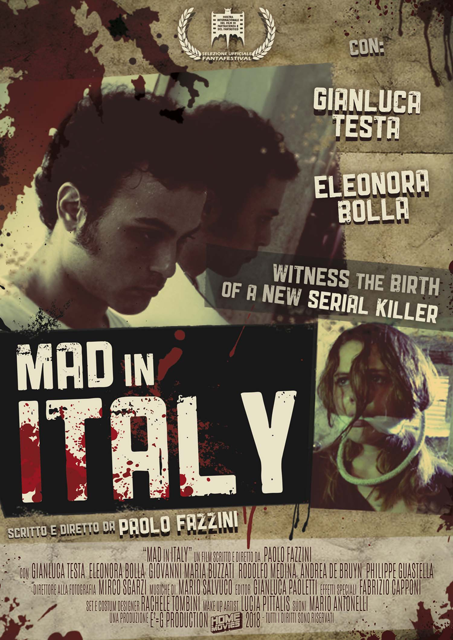 MAD IN ITALY (DVD)