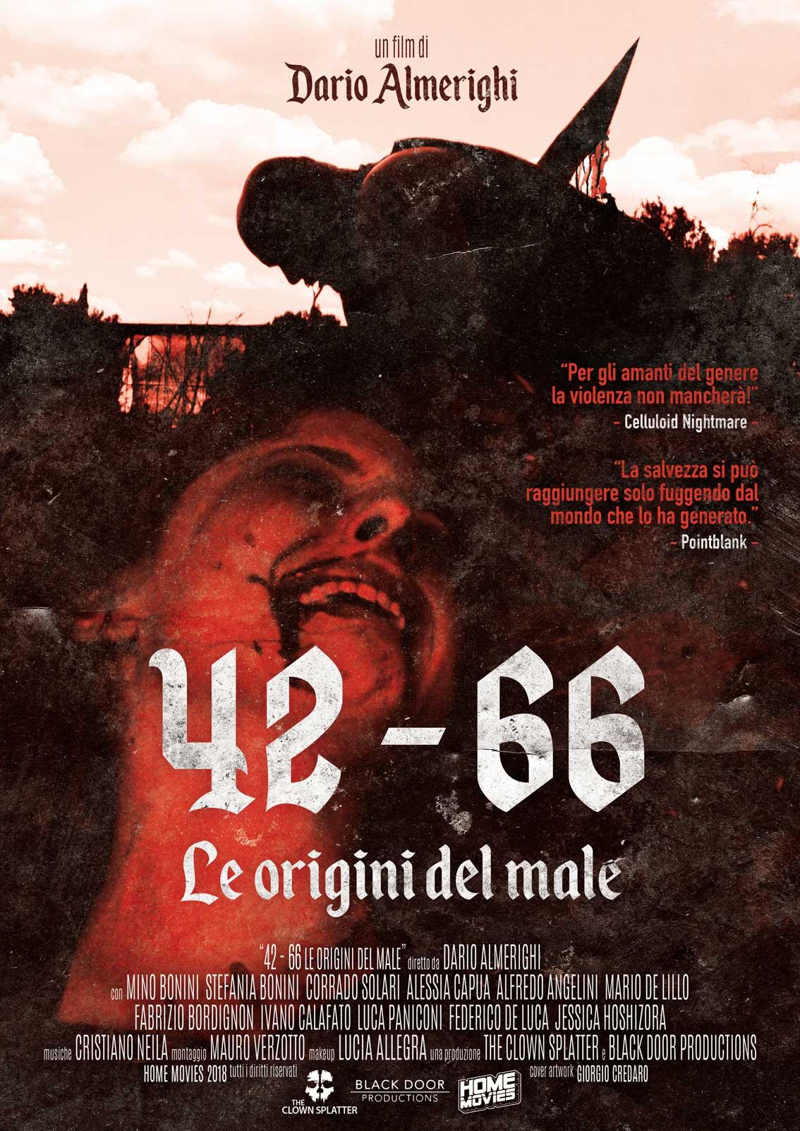 42 - 66 LE ORIGINI DEL MALE (ED. LIMITATA E NUMERATA) (DVD)