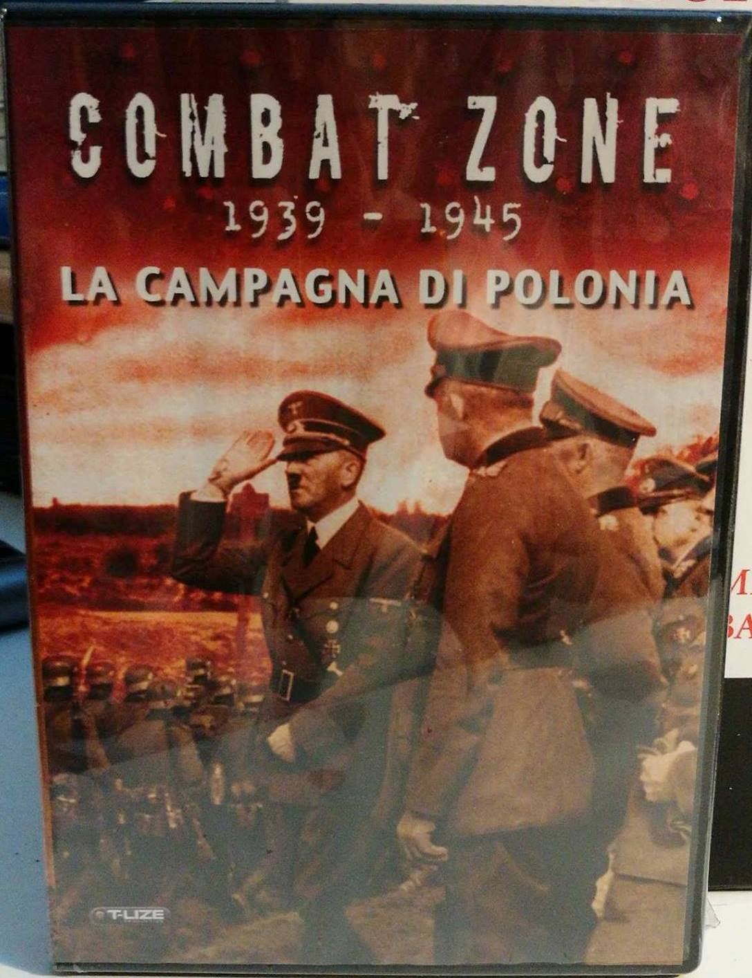 COMBAT ZONE 1939-1945 - LA CAMPAGNA DI POLONIA (DVD)