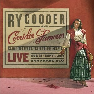 RY COODER - LIVE IN SAN FRANCISCO (CD)