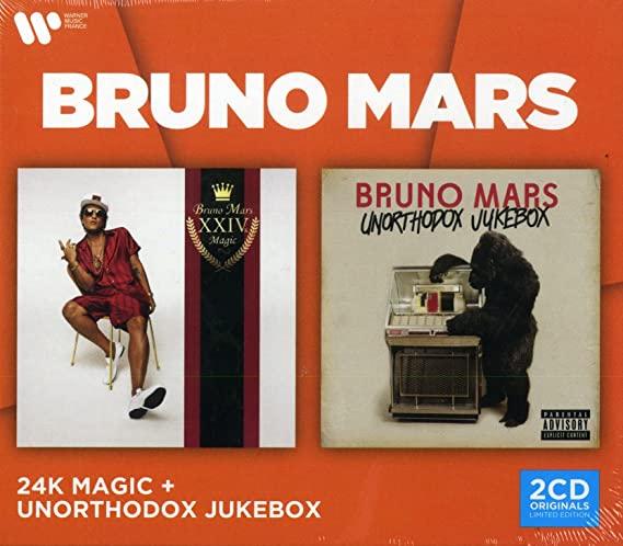 BRUNO MARS - 24K MAGIC & UNORTHODOX JUKEBOX (CD)