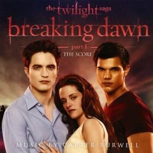 THE TWILIGHT SAGA. BREAKING DAWN PART 1. THE SCORE (CD)