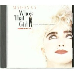 WHO'S THAT GIRL BY MADONNA * (CD)