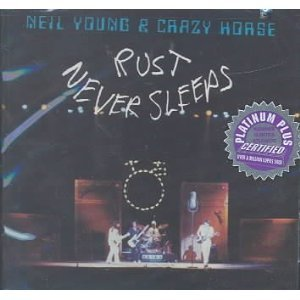 NEIL YOUNG - RUST NEVER SLEEP (CD)