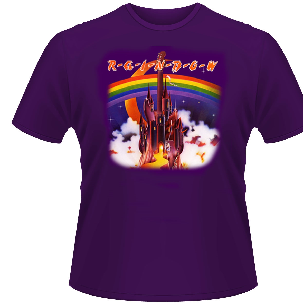 RAINBOW - SILVER MOUNTAIN (T-SHIRT UNISEX TG. M)
