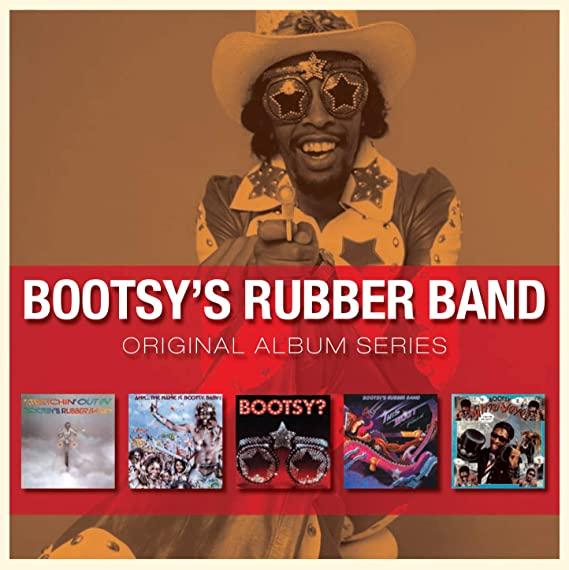 BOOTSY COLLINS - ORIGINAL ALBUM SERIES BOOTSY COLLINS -5CD (CD)