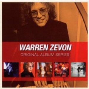 WARREN ZEVON - ORIGINAL ALBUM -5CD (CD)
