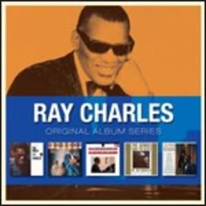 RAY CHARLES - ORIGINAL ALBUM SERIES -5CD (CD)