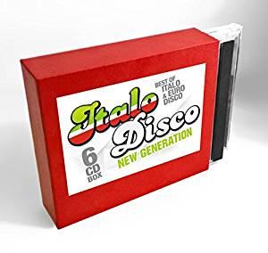 ITALO DISCO NEW GENERATION (6 CD) (CD)