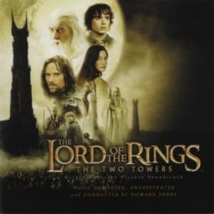 THE LORD OF THE RINGS TWO TOWERS IL SIGNORE DEGLI ANELLI 2 (CD)