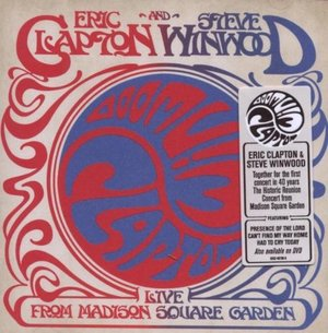 CLAPTON WINWOOD - LIVE FROM MADISON SQUARE GARDEN -2CD (CD)