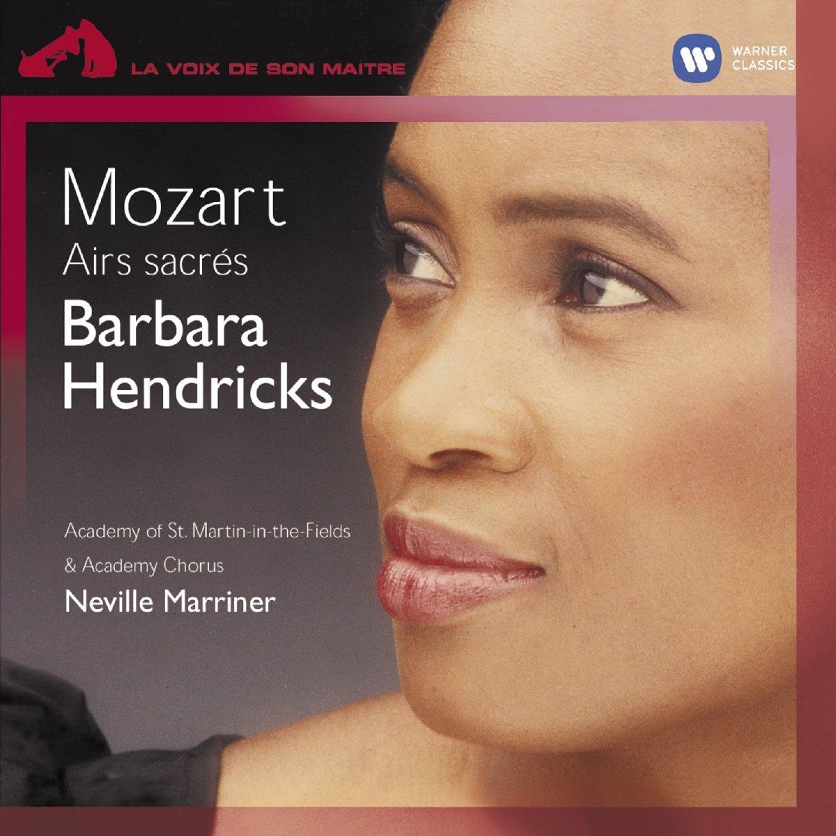 WOLFGANG AMADEUS MOZART - BARBARA HENDRICKS - AIRS SACRES (CD)