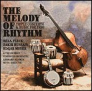 THE MELODY OF RHYTHM HUSSAIN MAYER FLECK (CD)