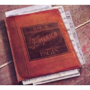 AMERICA - BACK PAGES (CD)