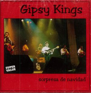GIPSY KINGS - SORPRESA DE NAVIDAD (CD)