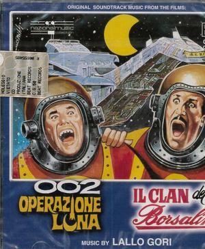 002 OPERAZIONE LUNA - IL CLAN DEI 2 BORSELINI (CD)