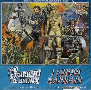 1990 I GUERRIERI DEL BRONX - I NUOVI BARBARI (CD)