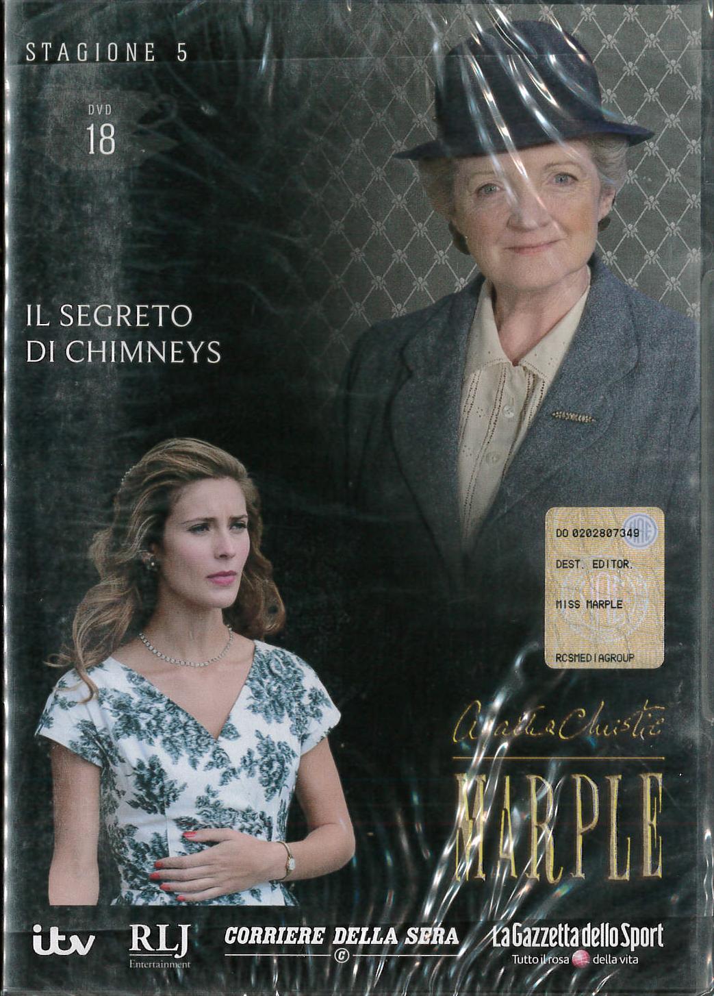 AGATHA CHRISTIE - IL SEGRETO DI CHIMNEYS- ED.EDICOLA (DVD)