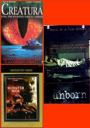 COF.CREATURA DAL PROFONDO DEGLI ABISSI / MONSTER MAN / THE UNBOR