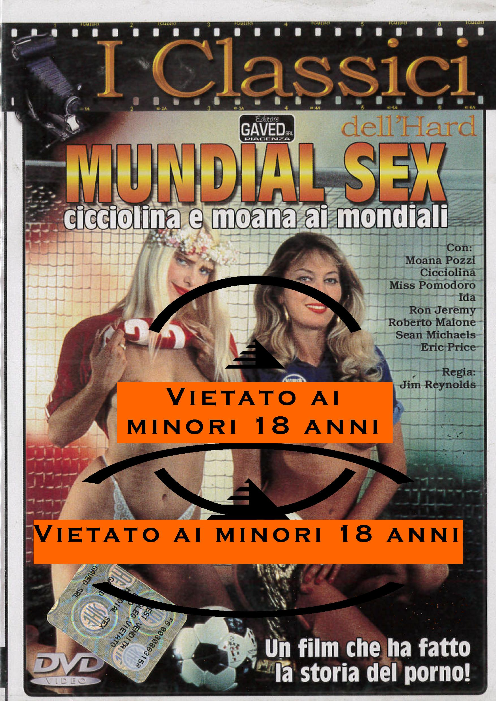 CICCIOLINA - MUNDIAL SEX (HARD XXX) (DVD)