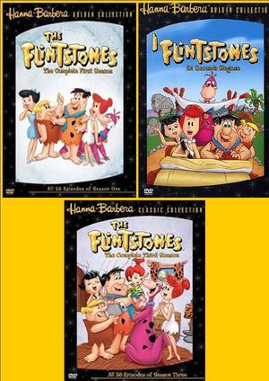 COF.I FLINTSTONES 1-3 (15DVD) (DVD)