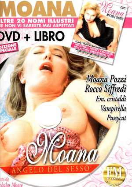 MOANA - ANGELO DEL SESSO + BOOK (HARD XXX) (DVD)
