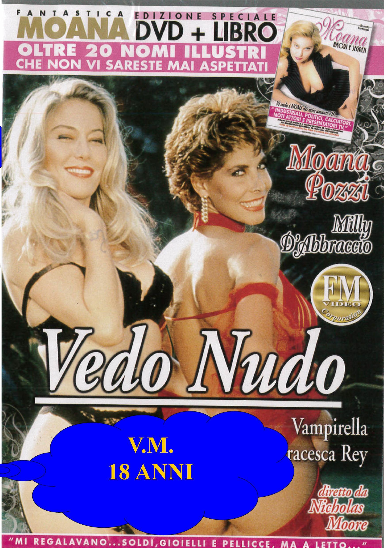 MOANA - VEDO NUDO + BOOK (HARD XXX) (DVD)