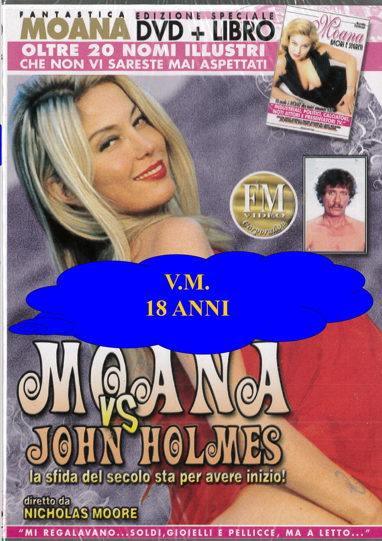 MOANA - MOANA VS JOHN HOLMES + BOOK (HARD XXX) (DVD)