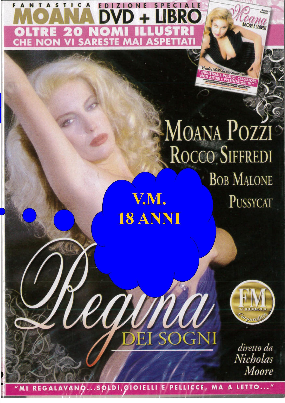 MOANA - REGINA DEI SOGNI + BOOK (HARD XXX) (DVD)