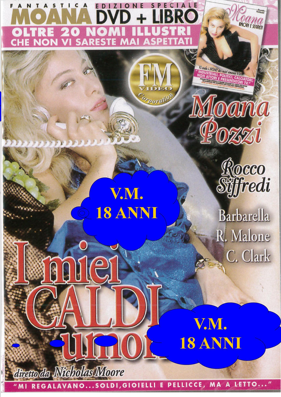 MOANA - I MIEI CALDI UMORI + BOOK (HARD XXX) (DVD)