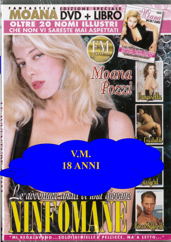 MOANA - LE AVVENTURE ANALI DI UNA GIOVANE NINFOMANE + BOOK (HARD XXX) (DVD)