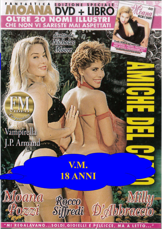D'ABBRACCIO-MOANA - AMICHE DEL CAZZO + BOOK (HARD XXX) (DVD)