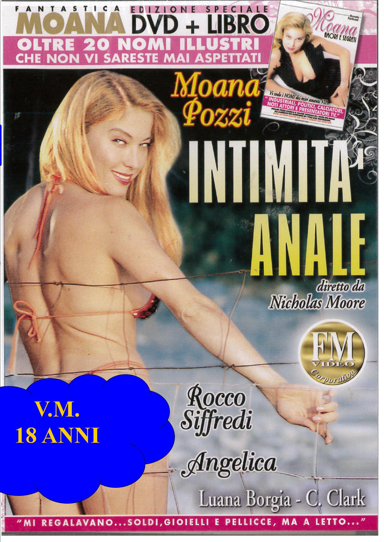 MOANA - INTIMITA' ANALE + BOOK (HARD XXX) (DVD)