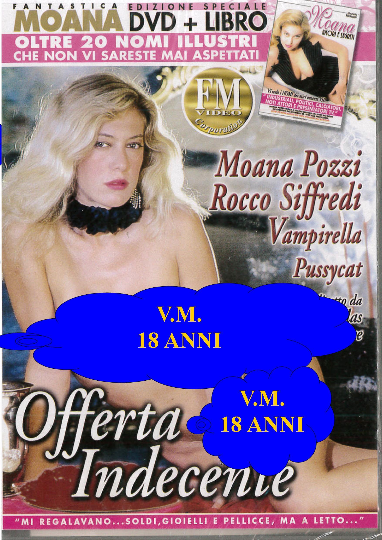 MOANA - OFFERTA INDECENTE + BOOK (HARD XXX) (DVD)