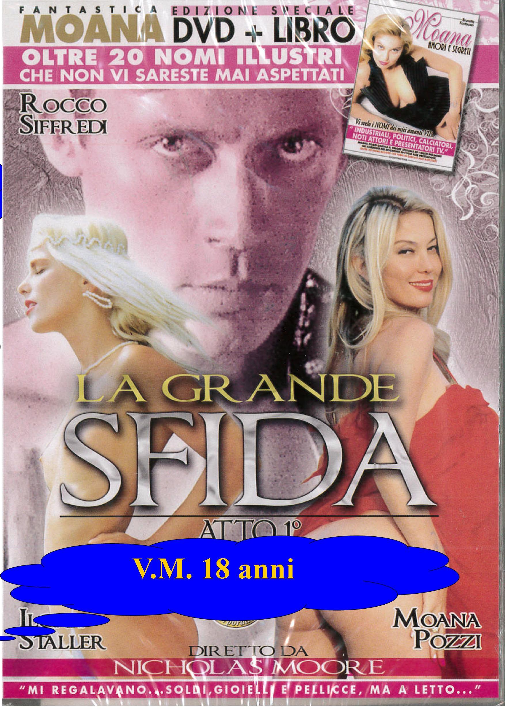 MOANA - LA GRANDE SFIDA + BOOK (HARD XXX) (DVD)