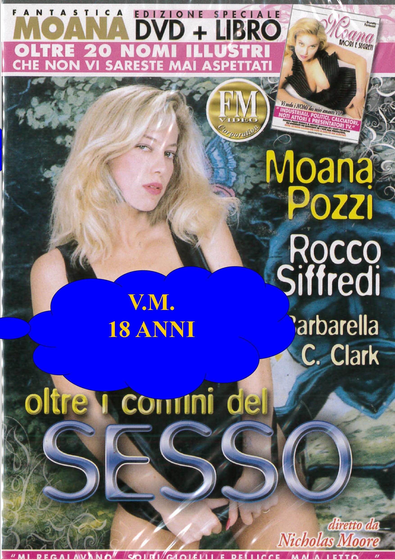 MOANA - OLTRE I CONFINI DEL SESSO + BOOK (HARD XXX) (DVD)