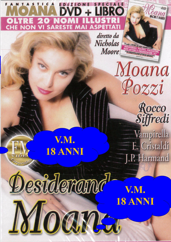 MOANA - DESIDERANDO MOANA + BOOK (HARD XXX) (DVD)