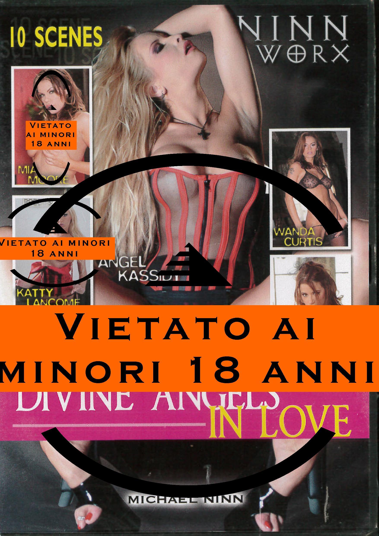 DIVINE ANGELS IN LOVE (HARD XXX) (DVD)