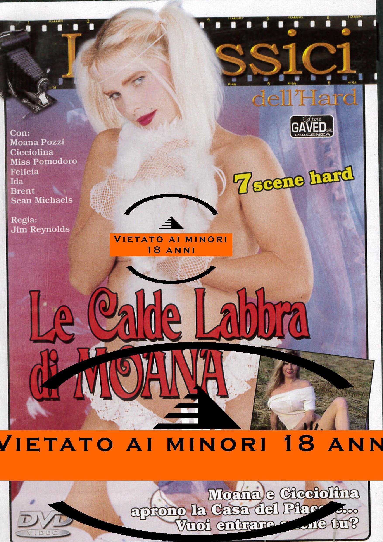CICCIOLINA - LE CALDE LABBRA DI MOANA (HARD XXX) (DVD)
