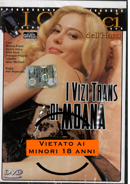 MOANA - I VIZI TRANS DI MOANA (HARD XXX) (DVD)