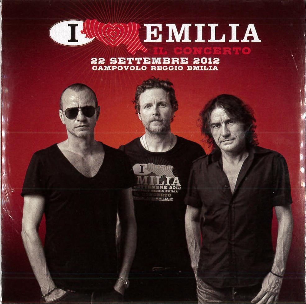 I LOVE EMILIA IL CONCERTO 4 / 22 SETTEMBRE 2012 (CD)
