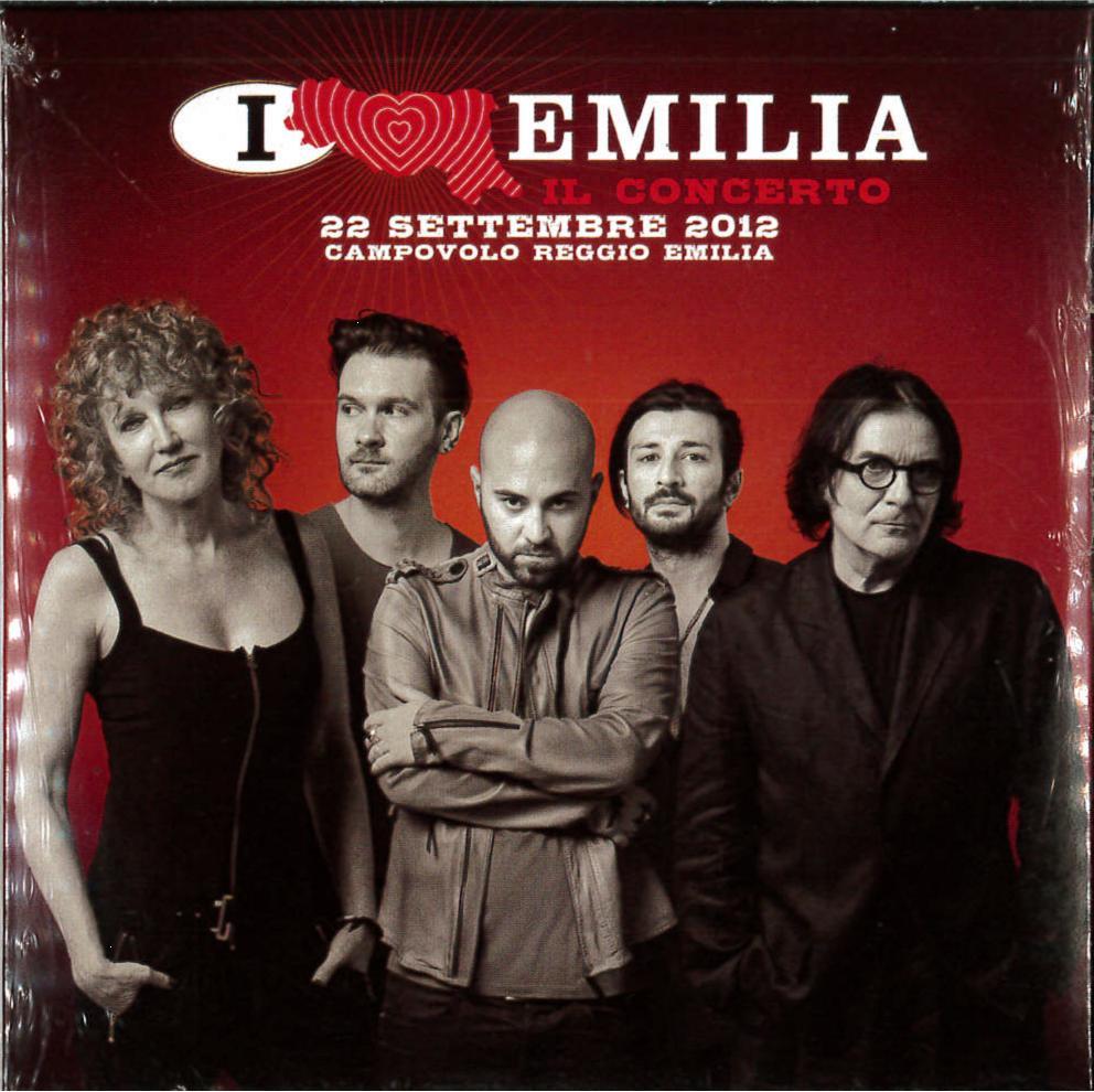 I LOVE EMILIA IL CONCERTO 2 / 22 SETTEMBRE 2012 (CD)