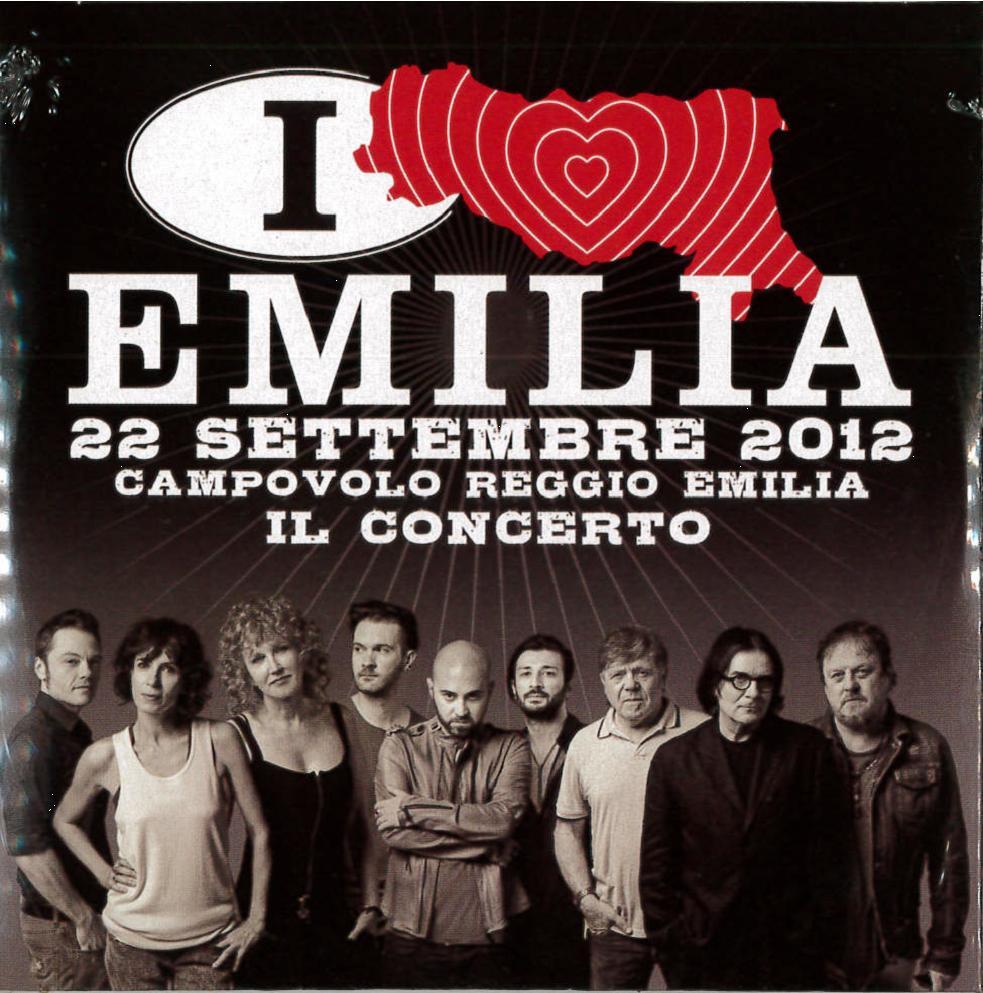I LOVE EMILIA IL CONCERTO VOL.01 / 22 SETTEMBRE 2012 DVD (DVD)
